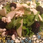 Tammy's Pear and Blackberry Salad